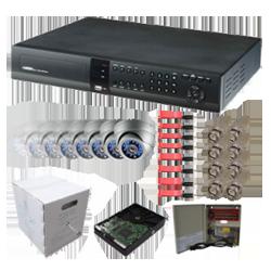 Austin CCTV Platinum Camera System