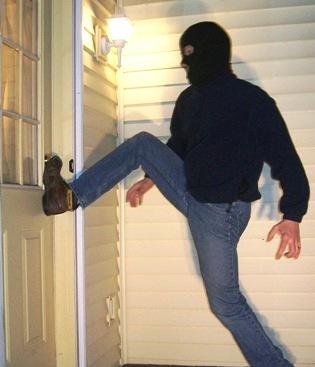 Door Kick In Attempt